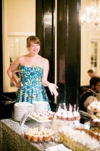Cupcake lady